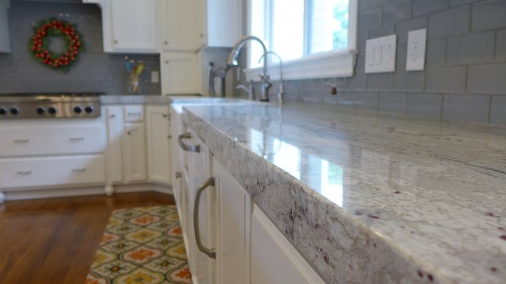 Chicago River White Granite Super White Countertops